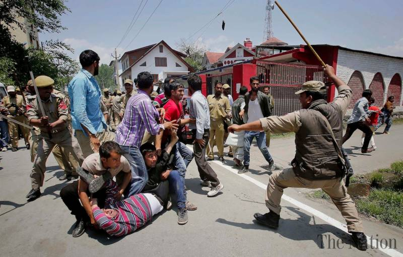Do Kashmiris have a legal right to armed resistance?
