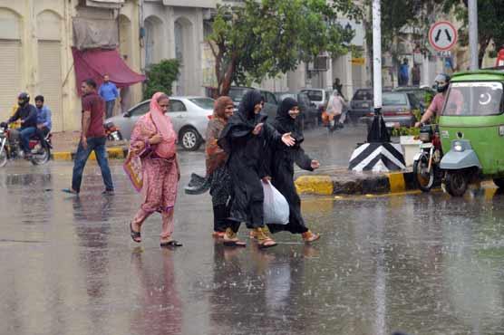 Met office forecasts rain in Kashmir, Punjab and KP