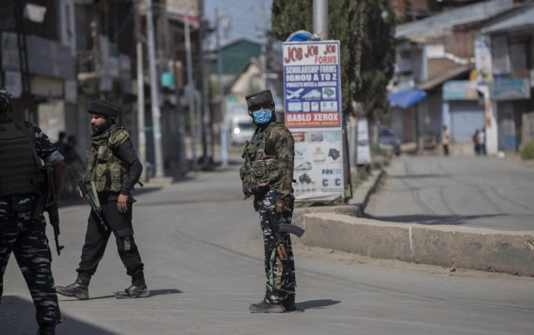 Four killed in occupied Kashmir shootout
