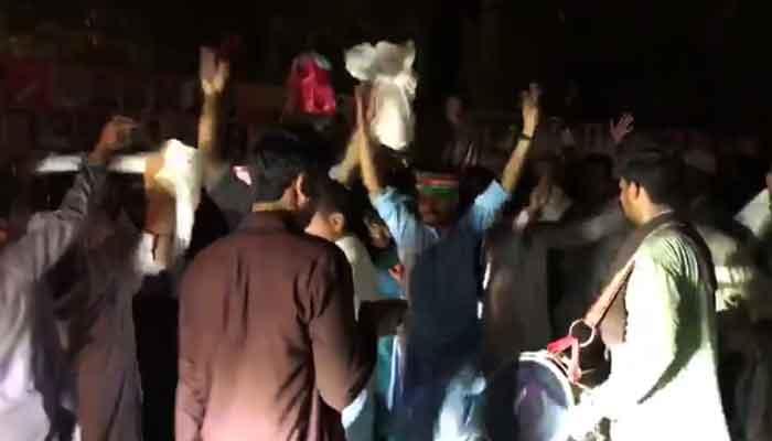 'Ambassador of Kashmir has won': PTI celebrates after winning simple majority in AJK Assembly