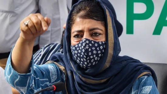Those in Delhi using Jammu & Kashmir as laboratory': Mehbooba Mufti