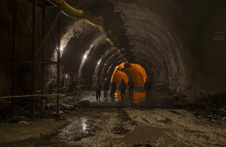 In pictures: India builds strategic tunnel project in occupied Kashmir